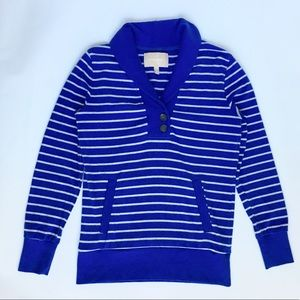 Banana Republic Blue Striped Sweater Women's